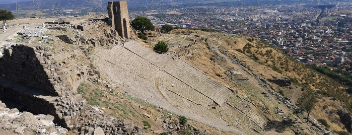 Theater Of Pergamon is one of Bergama.