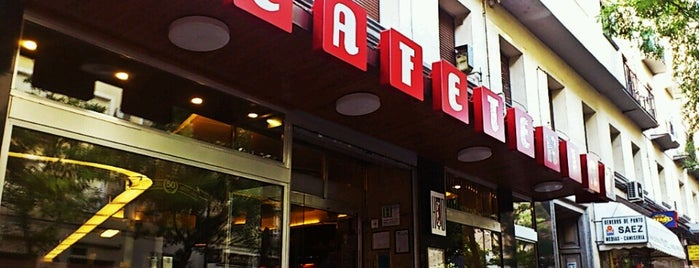 Cafetería HD is one of list-to-eat (Madrid).