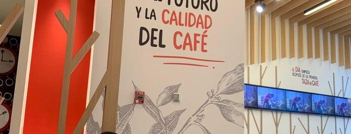 Cafetería Nescafé is one of Aline'nin Kaydettiği Mekanlar.