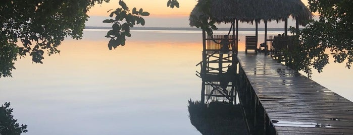 Laguna Bacalar is one of Caribe Mexicano.