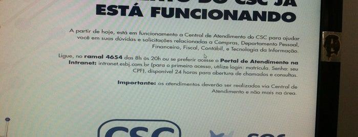 CSC CRA Grupo Ser Educacional is one of nao conheço.