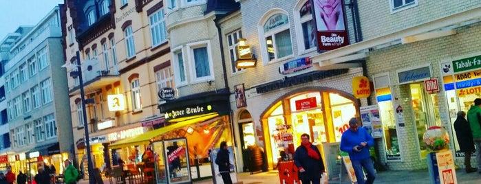 Einkaufsmeile Friedrichstraße is one of Sylt ••Spotted••.