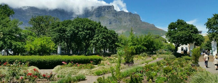 The Company's Garden is one of South Africa.
