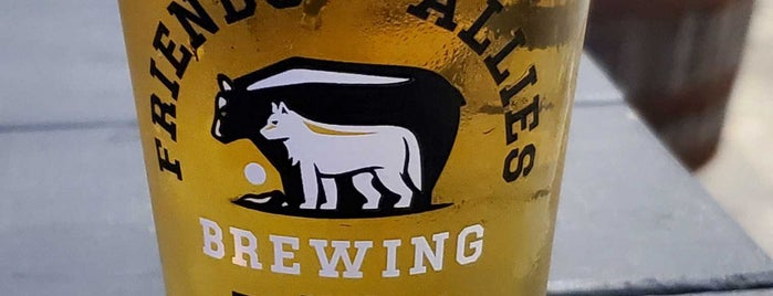 Friends and Allies Brewing is one of Austin, TX.