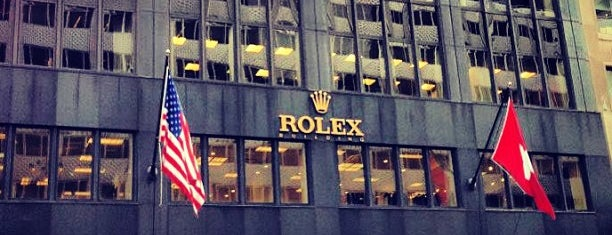 Rolex Watch USA Inc. is one of NYC Best Shops.