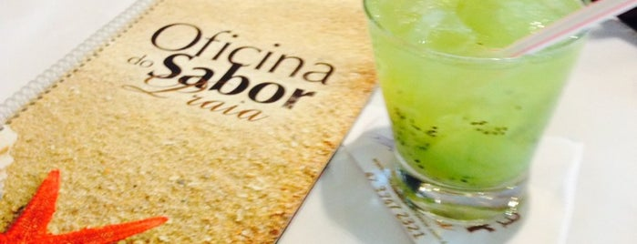 Oficina do Sabor Praia is one of Marceloさんの保存済みスポット.