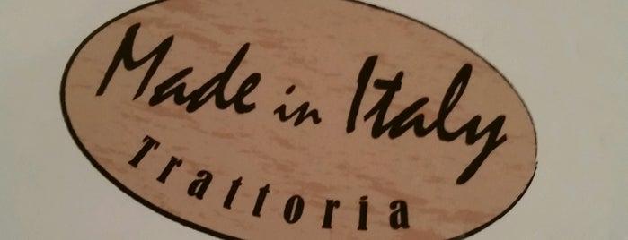 Made In Italy Trattoria is one of Dave'nin Beğendiği Mekanlar.