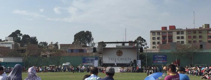 Polideportivo Limatambo is one of สถานที่ที่ Jamhil ถูกใจ.