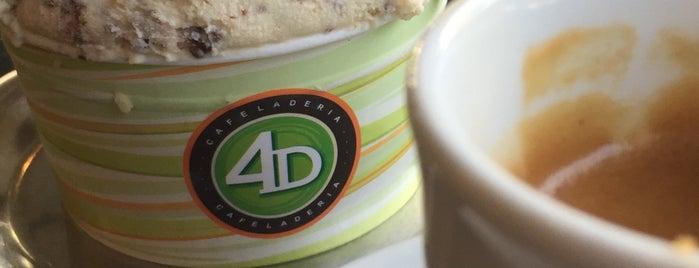 Cafeladería 4D is one of สถานที่ที่ Jamhil ถูกใจ.