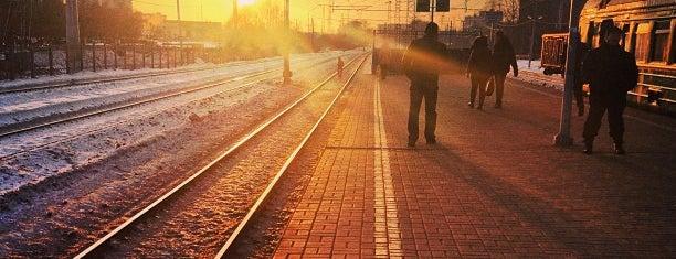 Станция Павшино is one of Locais curtidos por Ilya.