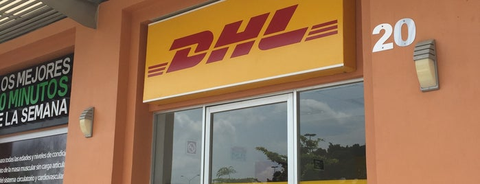 DHL Express is one of Lugares favoritos de Vanessa.