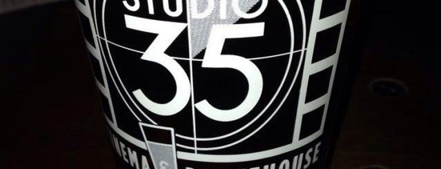 Studio 35 Cinema & Drafthouse is one of Columbus!.