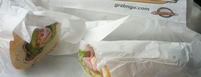 Grab & Go Subs is one of Coronado Island (etc).