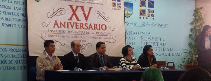 Instituto De Ciencias De La Educación ICE UABJO is one of Zazil 님이 좋아한 장소.