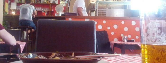 Pizzeria Bambini is one of Tempat yang Disukai Jiří.
