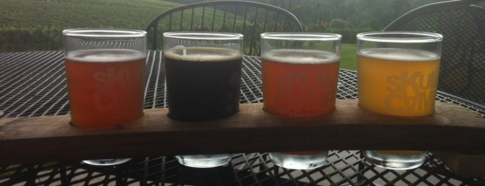 Skull Camp Brewing is one of NC Craft Breweries.