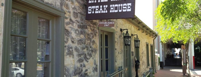 Little Rhein Steak House is one of Hashtag Texas.