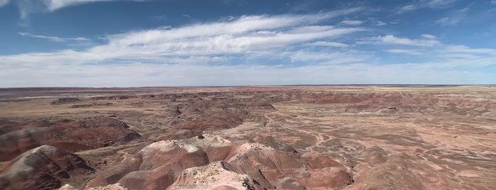 Painted Desert Rim Trail is one of Lugares favoritos de Davide.