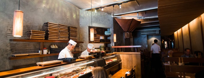 Blue Ribbon Brasserie is one of The Soho List by Urban Compass.