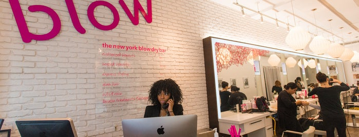 Blow Salon is one of The West Village List by Urban Compass.