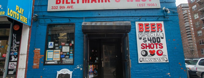 Billymark's West is one of Manhattan Bars to Check Out.
