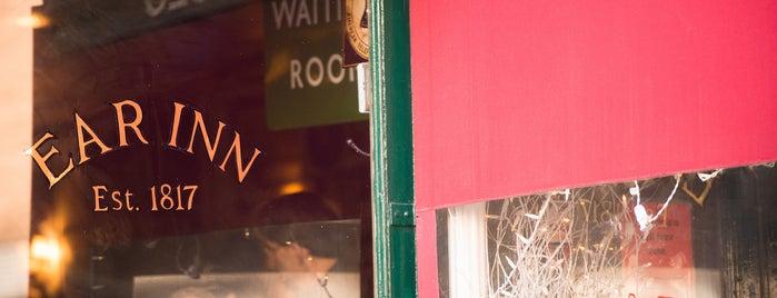 Ear Inn is one of The Soho List by Urban Compass.