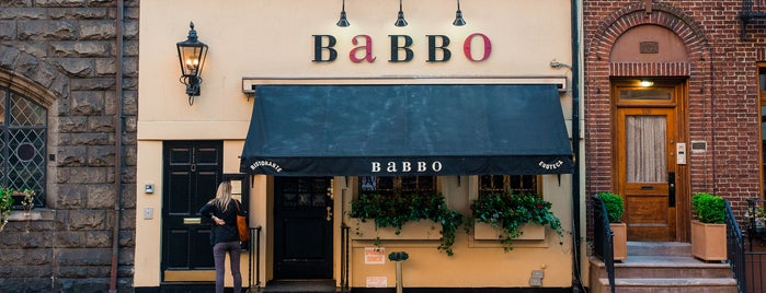 Babbo Ristorante e Enoteca is one of The West Village List by Urban Compass.