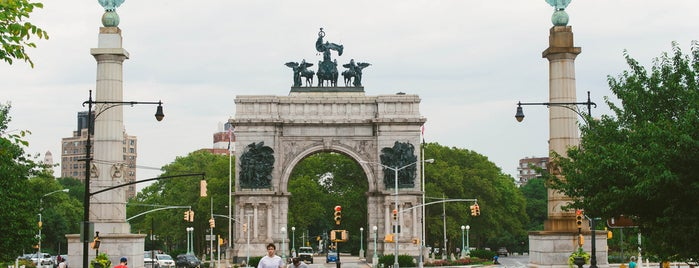 Grand Army Plaza is one of The Park Slope List by Urban Compass.
