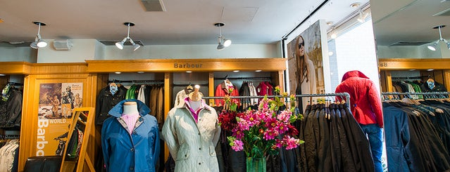 Barbour is one of The Upper East Side List by Urban Compass.