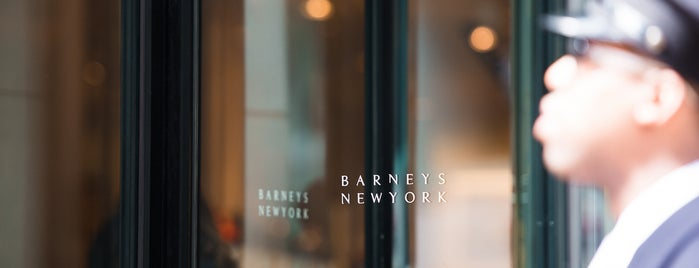 Barneys New York is one of The Midtown East List by Urban Compass.