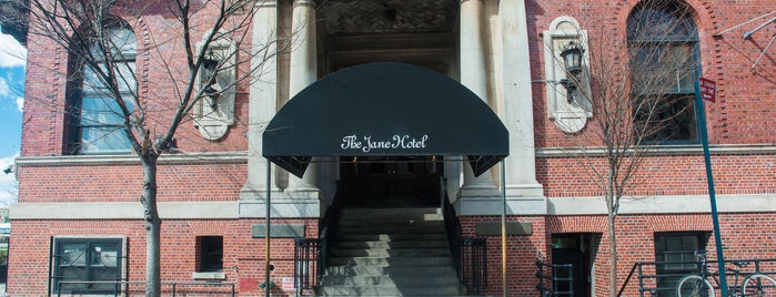 The Jane Hotel is one of The West Village List by Urban Compass.