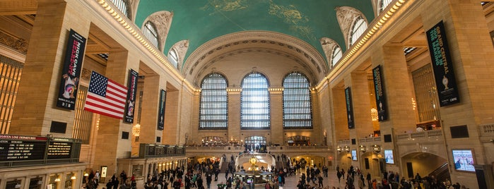 Grand Central Terminal is one of The Midtown East List by Urban Compass.