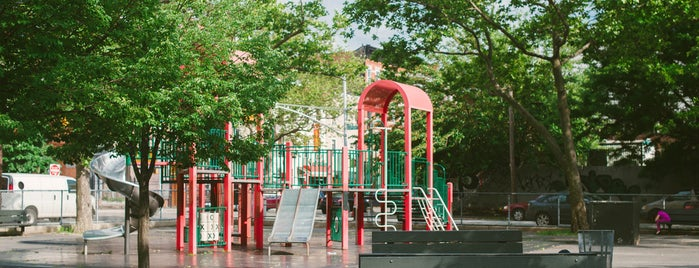 Greenpoint Playground is one of The Greenpoint List by Urban Compass.