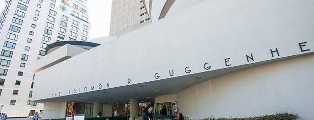 Solomon R Guggenheim Museum is one of The Upper East Side List by Urban Compass.