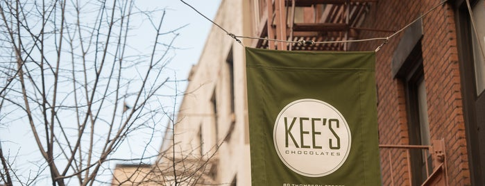 Kee's Chocolate is one of The Soho List by Urban Compass.