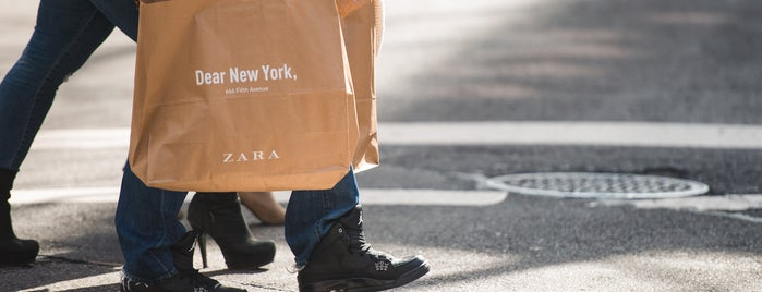 Zara is one of The Midtown East List by Urban Compass.