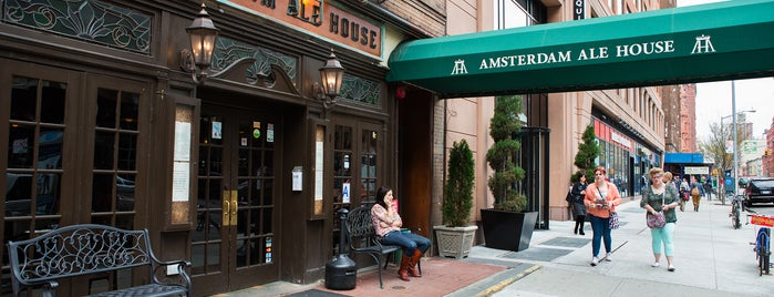 Amsterdam Ale House is one of Burgers.