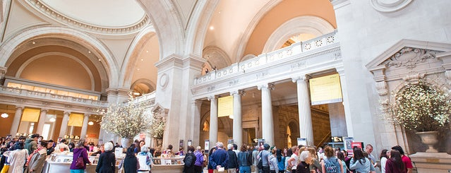 The Metropolitan Museum of Art is one of NYC basics 2018.