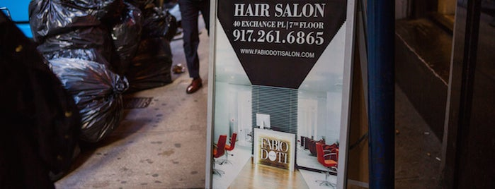 Fabio Doti Salon is one of The Financial District List by Urban Compass.
