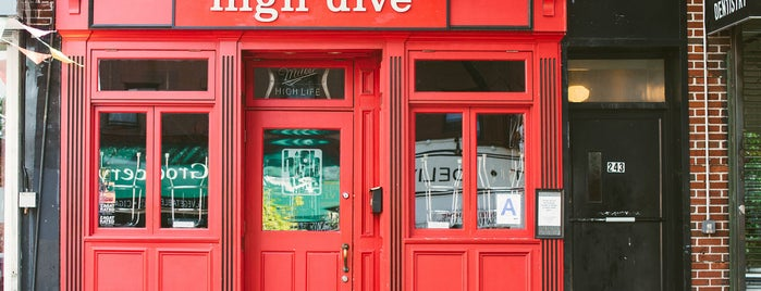 High Dive is one of The Park Slope List by Urban Compass.