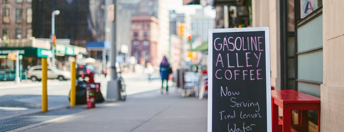 Gasoline Alley Coffee is one of The Noho List by Urban Compass.