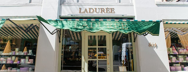 Ladurée is one of The Upper East Side List by Urban Compass.