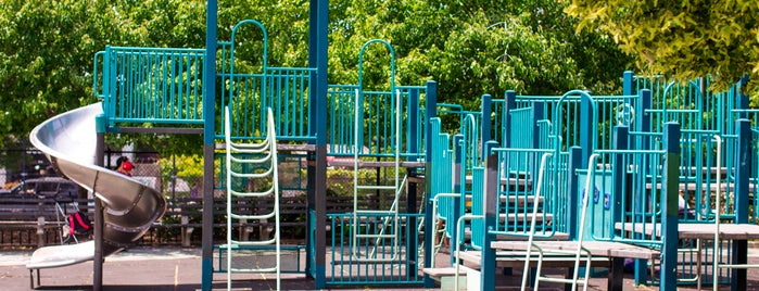 William Sheridan Playground is one of The Williamsburg List by Urban Compass.