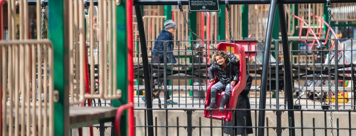 Bleecker Playground is one of The West Village List by Urban Compass.