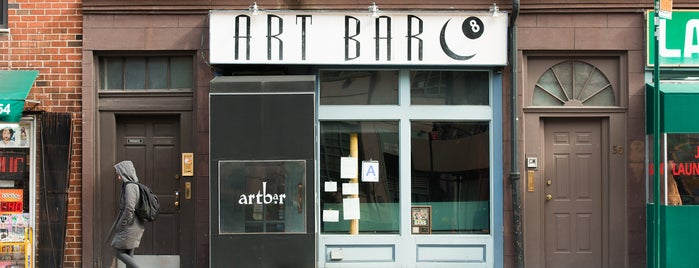 Art Bar is one of happy hour.