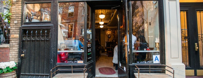Buvette is one of NYC Wine Bars.