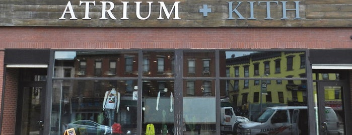 Atrium + Kith is one of NYC shops.