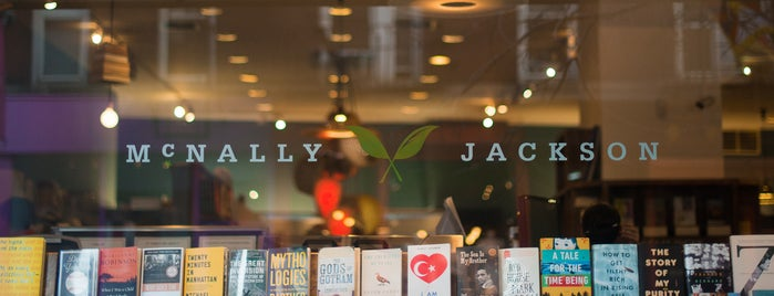 McNally Jackson Books is one of The Nolita List by Urban Compass.