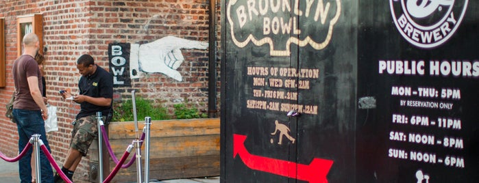 Brooklyn Bowl is one of The Williamsburg List by Urban Compass.
