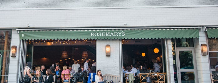 Rosemary's is one of The West Village List by Urban Compass.
